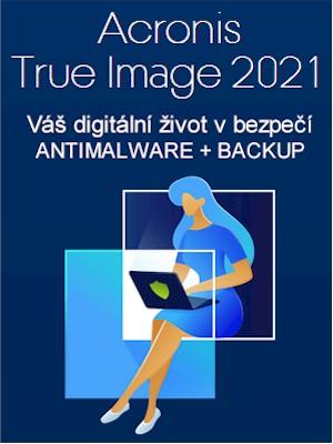 Acronis True Image 2021 CZ